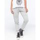 ALMOST FAMOUS French Terry Womens Jogger Pants