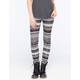 FULL TILT Linear Ethnic Womens Leggings