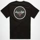 CHOCOLATE Circle Test Mens T-Shirt