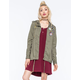 FULL TILT Twill Patched Womens Parka Jacket