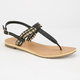 CITY CLASSIFIED Friday Womens T-Strap Sandals