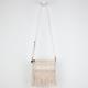 Suede Fringe Crossbody Bag