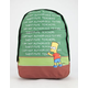 NEFF x The Simpsons Chalkboard Backpack