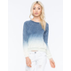 BILLABONG Call Out Dip Dye Womens Pullover Hoodie