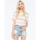 BILLABONG Sheer Luck Stripe Womens Tee
