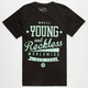 YOUNG & RECKLESS Fine Worldwide Mens T-Shirt