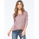 OTHERS FOLLOW Margo Knit Womens Tee