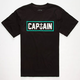 CAPTAIN FIN Naval Captain Boys T-Shirt