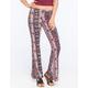 FULL TILT Ethnic Floral Print Womens Flare Pants