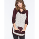 MISS CHIEVOUS Crochet Hachi Womens Pullover Sweater