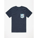 RIP CURL Pinto Custom Mens Pocket Tee