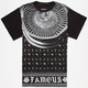 FAMOUS STARS & STRAPS 100 Spoke Mens T-Shirt