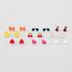 FULL TILT 9 Pairs Summer Days Earrings