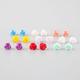 FULL TILT 9 Pairs Flower Earrings