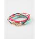FULL TILT 5 Piece Hamsa/Eye Friendship Bracelets