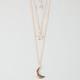 FULL TILT 3 Row Celestial Necklace