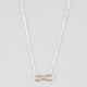 FULL TILT Dainty Infinity Necklace