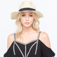 Banded Womens Straw Hat