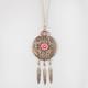 FULL TILT Coral Pendant Necklace