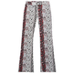 FULL TILT Vertical Floral Print Girls Flare Pants