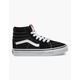 VANS Sk8-Hi Black & White Kids Shoes