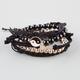 FULL TILT 5 Piece Infinity/Crochet/Yin Yang Bracelets