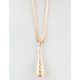 THE GOLD GODS Ace Of Spades Necklace