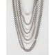 FULL TILT 10 Row Layered Necklace