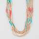 FULL TILT Seed Bead Layered Necklace