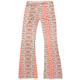 H.I.P. Vertical Medallion Girls Flare Pants