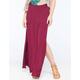 FULL TILT High Side Slit Maxi Skirt