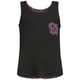 FULL TILT Diamond Print Girls Pocket Tank