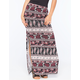 FULL TILT Mixed Print Maxi Skirt