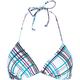FULL TILT Plaidy Bikini Top