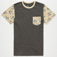 VOLCOM Swung Mens Pocket Tee