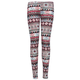 FULL TILT Distressed Stack Diamond Girls Leggings