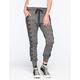 FULL TILT Side Print Marled Womens Jogger Pants