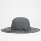 Bow Felt Womens Floppy Hat