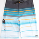 BILLABONG Platinum X All Day Stripe Mens Boardshorts