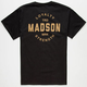 MADSON OF AMERICA Machinist Mens Pocket Tee