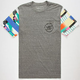 YOUNG & RECKLESS Roids Vortex Mens Pocket Tee