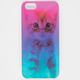 Ombre Cat iPhone 5/5S Case