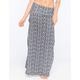 FULL TILT Fold Over Waist Ethnic Maxi Skirt