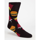 BLUE CROWN Happy Meal Mens Crew Socks
