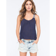 FULL TILT Embroidered Tape Womens Tank