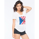 YOUNG & RECKLESS Square Logo Womens Tee