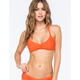 VOLCOM Simply Solid Strappy Crop Bikini Top
