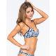 DAMSEL Shibori Wrap Bralette Bikini Top