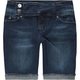 SCISSOR Extended Tab Girls Denim Shorts