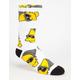 NEFF x The Simpsons Steezy Bart Mens Crew Socks